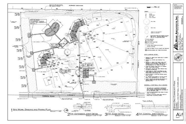 Site Plan Autocad : Autocad drafting contract service